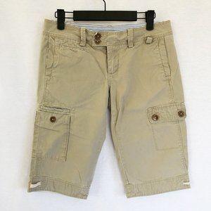 G1 Basic Goods Khaki Cargo Bermuda Shorts size 2